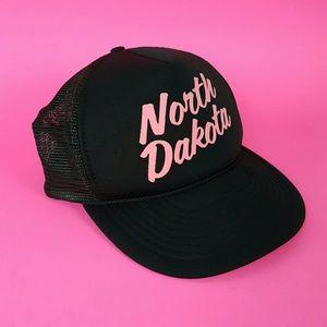 Vintage North Dakota Tourist Trucker Hat